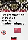 Programmation en Python pour les mathématiques