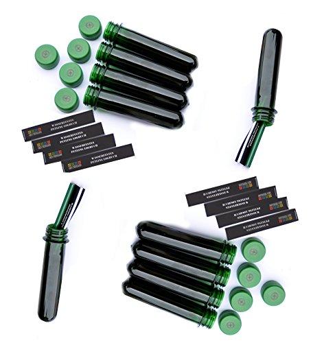 10-Gocaches-13-cm-vert-260-logs-tanche-journaux-de-gocaching-avec-couvercle-fTF-avec-logo-cachette-de-gocaching-rcipient-tanche-bote