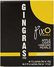 Pixo Pearls Gingras Xo Apple Cider Vinegar Original 141 Ounce