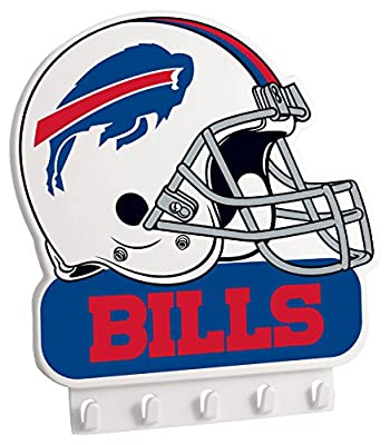 "NFL Buffalo Bills My Key Rack, 8.5"" x 7.75"", White"