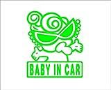 Amazon.co.jpBABY IN CAR ギャング 緑 カッティングステッカー ウォールステッカー ステッカー