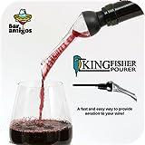 CKB Ltd Kingfisher Wine Aerator Aeratore del vino Versatore Aerazione Bottiglia Scrosciante Sapore Taste Enhancer