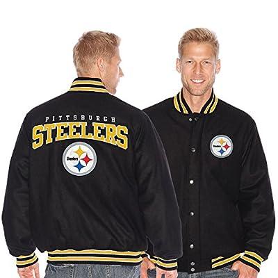 Pittsburgh Steelers Pump Fake NFL Varsity Jacket