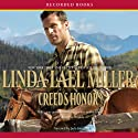 Creed's Honor Audiobook by Linda Lael Miller Narrated by Jack Garrett