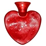 Transparent Heart Shaped Hot Water Bottle- Made in Germany