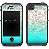 Beach Sparkle Ombre Skin Decal for Lifeproof iPhone 4/4S Case Design (Case not included)