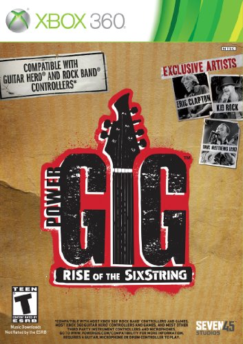 Power Gig: Rise Of The Sixstring - Xbox 360 (Game Only)