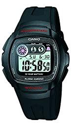 Casio Youth White Dial Mens Watch - W-210-1CVDF (I065)