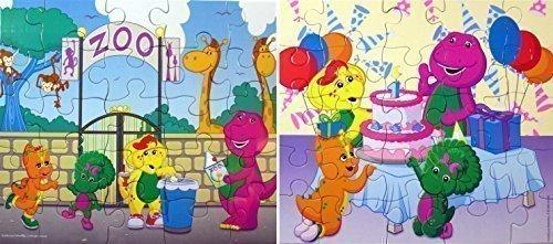 Barney Puzzle Pack [25 PCS - 2 Pack]