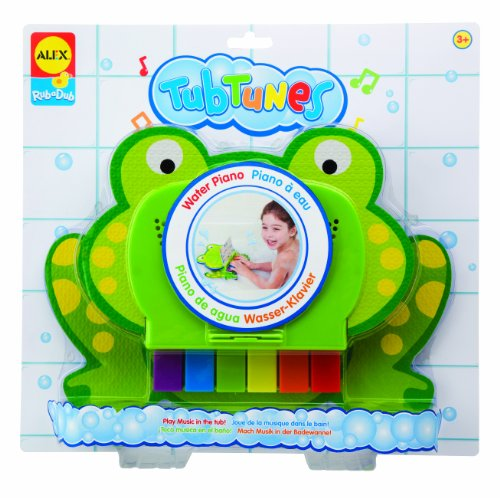 ALEX Toys Rub a Dub Tub Tunes, Water Piano