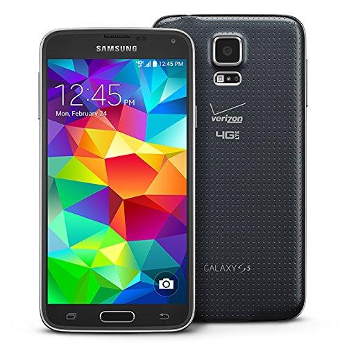 Samsung Galaxy S5 G900V Verizon 4G LTE Smartphone w/ 16MP Camera - Black - Verizon (Samsung Mini Sd Card 16gb compare prices)