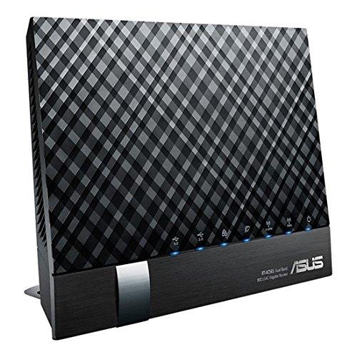 ASUS 11ac/n/a/b/g Giga 867+300Mbps高速無線LANルーター【iPhone6/Android/PSV/3DS対応】 RT-AC56S (100GBクラウドストレージ1年間無料/QoS機能)