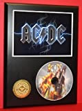 Ac/Dc Limited Edition Picture Disc CD Rare Collectible Music Display