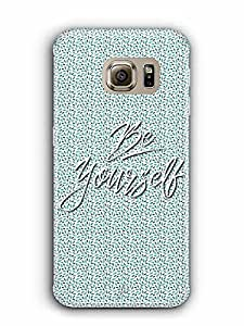 YuBingo Be Yourself Designer Mobile Case Back Cover for Samsung Galaxy S6 Edge