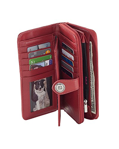 stone-mountain-usa-large-zip-around-leather-wallet-red-one-size