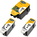 2x KODAK 30 (High Capacity) Compatible Black & 1x Tri-Colour Printer Ink Cartridges For use with Kodak ESP 1.2 3.2 C100 C110 C300 C310 C315 Printers by Ink Trader