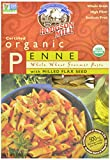 Hodgson Mill Organic Whole Wheat Penne with Milled Flaxseed, 12-Ounce Boxes (Pack of 8)