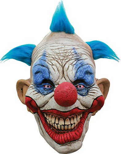Dammy The Evil Circus Killer Clown Scary Latex Adult Halloween Costume Mask