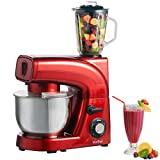 VonShef 3-in-1 Electric Stand Mixer with Blender & Meat Grinder - 1200W - Includes FREE Hamlyn Recipe Book