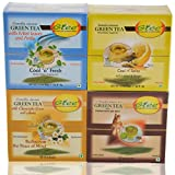 GTEE Green Tea Bags-Mint & Green Tea Bags-Chamomile & Green Tea Bags - Lemon & Ginger & Green Tea Bags - Ginseng...