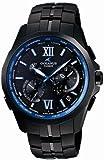 [カシオ]Casio 腕時計 OCEANUS BLACK MANTA 世界6局電波対応ソーラーウォッチ スマートアクセス タフムーブメント搭載 3年保証 OCW-S2400B-1AJF メンズ