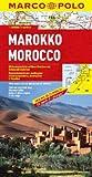 echange, troc Unknown. - Marco Polo Kontinentalkarte Marokko 1 : 800 000