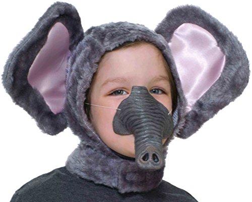 Forum Novelties Child Size Animal Costume Set, Elephant Hood and Nose Mask