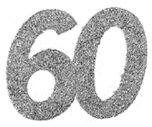 60 60 60 Geburtstag Confetti 60 Geburtstag 60 Konfetti 60 Streudekoration
