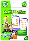 LeapFrog LeapSchool Multiplication Flash Cards for Grades