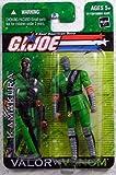 G.I. Joe 2004 A Real American Hero Valor Versus Venom 4 Inch Action Figure - Kamakura (Ninja Apprentice) with M-16A2 Battle Rifle, Ninja Sword and Green Sheath