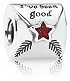 Pandora 791390EN58 Letter to Father Christmas Charm New 2014