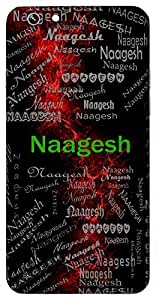 Naagesh (God Of Serpents ( Sheshnaag )) Name & Sign Printed All over customize & Personalized!! Protective back cover for your Smart Phone : Moto G3 ( 3rd Gen )