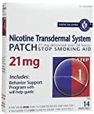 Habitrol Nicotine Transdermal System Step 1 Patch 21mg 14's - Pack of 12