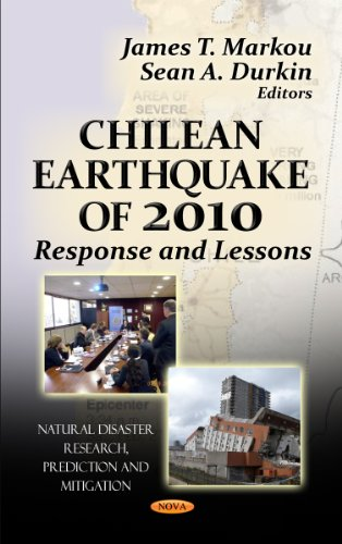 Sale alerts for Nova Science Pub Inc Chilean Earthquake of 2010: Response and Lessons - Covvet