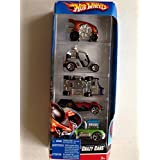 Hot Wheels 2007 Series Crazy Cars 5 Car Pack