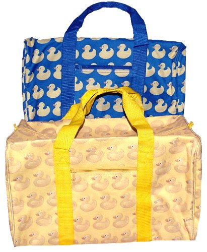 Rubber Ducky Duffle Bag ~ Color: Blue ~