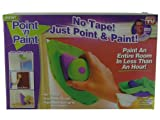 NEW - POINT AND PAINT - No Taping - Just Point & Paint - Interchangeable Pads Ideal for All Applications - Pad Holds Upto 8 TIMES More Paint than Regular Roller - Easy to Clean - Great on Tricky Corners - Quick Accurate & Easy to Use Set