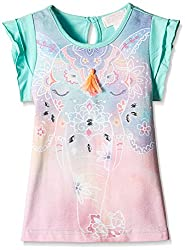 Pumpkin Patch Girls' T-Shirt (S5TG11032_Opal_4)