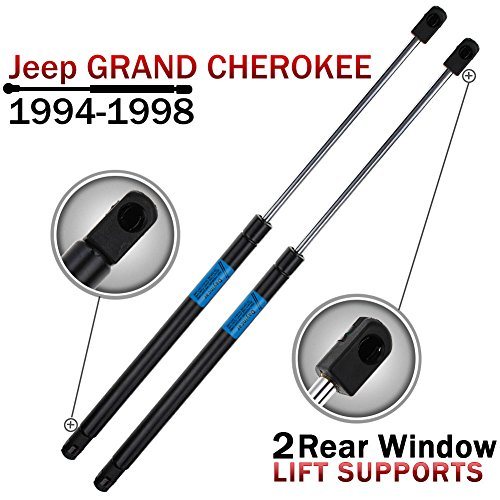 Qty(2) 94-98 Jeep Grand Cherokee Rear Window Lift Support Struts (98 Jeep Grand Cherokee Parts compare prices)
