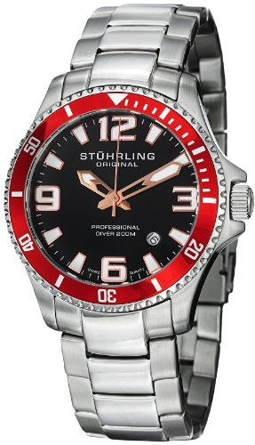 Red Mens Watch