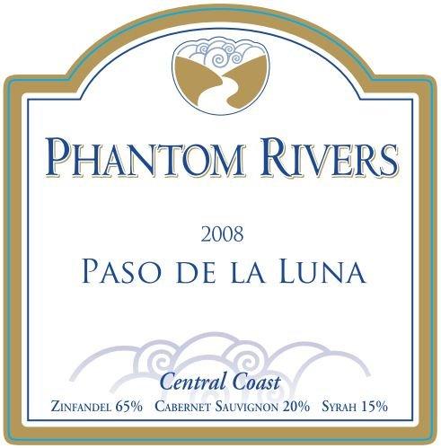 2008 Phantom Rivers Paso De La Luna Central Coast 750 Ml