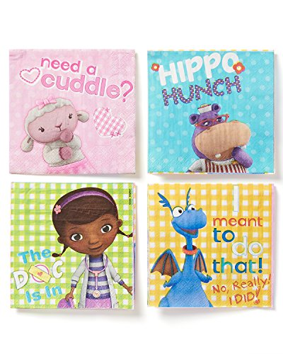 American Greetings Doc McStuffins Lunch Napkins (16 Count) - 1