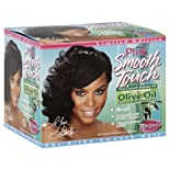 Pink Smooth Touch Relaxer Kit, New Growth, Regular