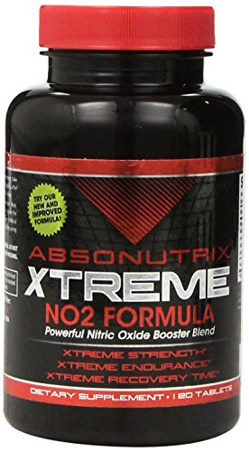 2 Bottles Absonutrix Extreme No2 - 3000mg of No2 Power