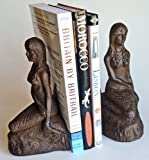 Coastal Home Decor - Mermaid Bookends - Nautical Bookends - Book Ends