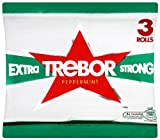 Trebor Extra Strong Roll 124 g (Pack of 9, Total 27 Rolls)