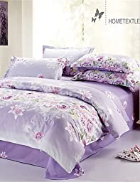 N&XI&J Yuxin? Duvet Cover Fashion Comfortable Twin/Full/Queen Size , full-light purple , full-light purple