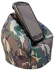 Printed Bean Bag Mobile Holder Camouflage