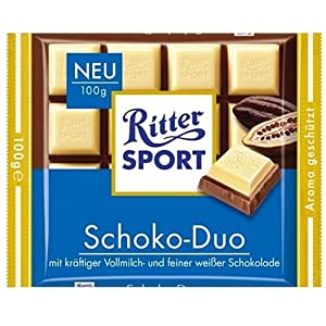 Ritter Sport Schoko-Duo Chocolate, 100g