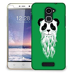 Snoogg Panda With Beard Designer Protective Back Case Cover For COOLPAD NOTE 3 LITE